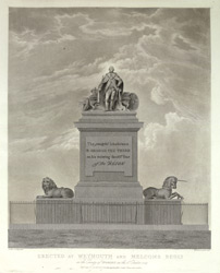 Monument to George III, Erected at Weymouth